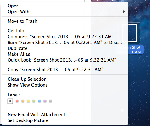 how to delete selected items in trash mac