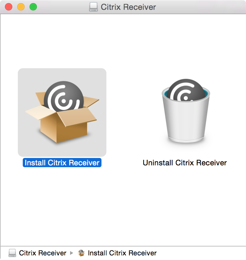 Uninstall Citrix Receiver Mac